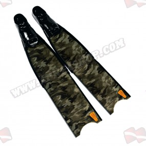 סנפירי Leaderfins Green Camo + תיק מתנה