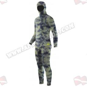 חליפה תפורה לפי מידה - Elios Hyperstretch Green Camouflage