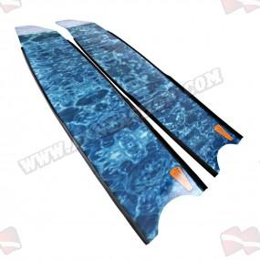 להבי סנפירים Leaderfins Blue Camouflage
