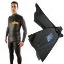 חבילת צלילה חופשית Freediver Bi-Fins