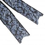 להבי סנפירים Leaderfins Neo Deep Blue Carbon Fiber